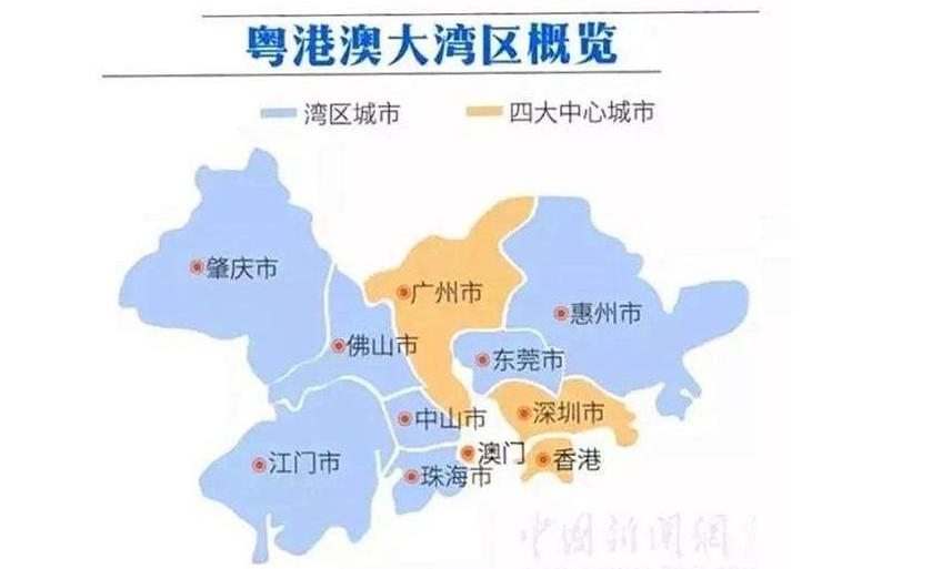 粤港澳大湾区包含的市